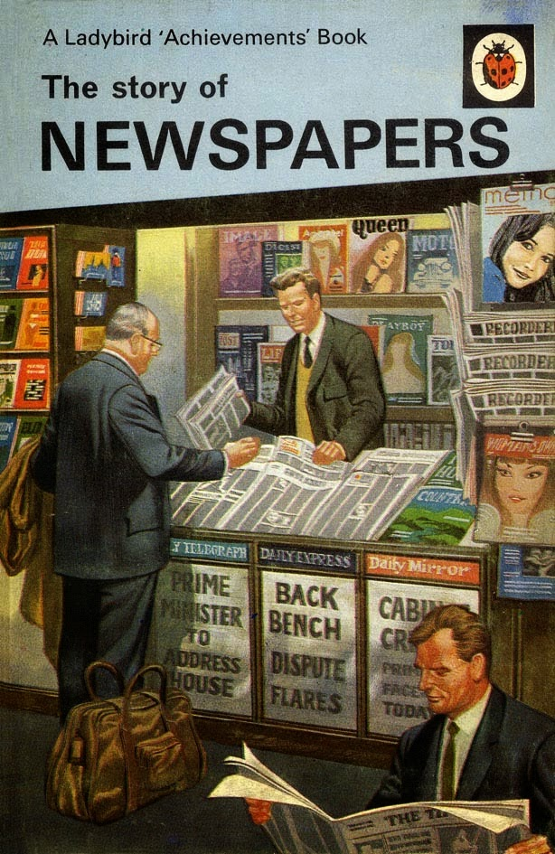 The story of newspapers by W.D. Siddle