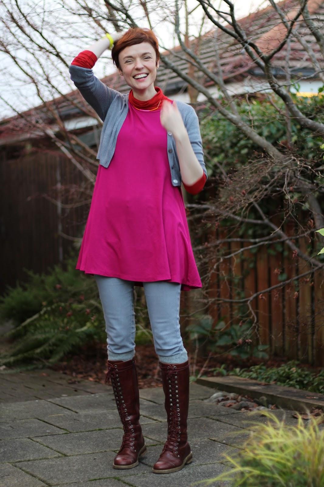 Hot pink, neon yellow & grey | Fake Fabulous