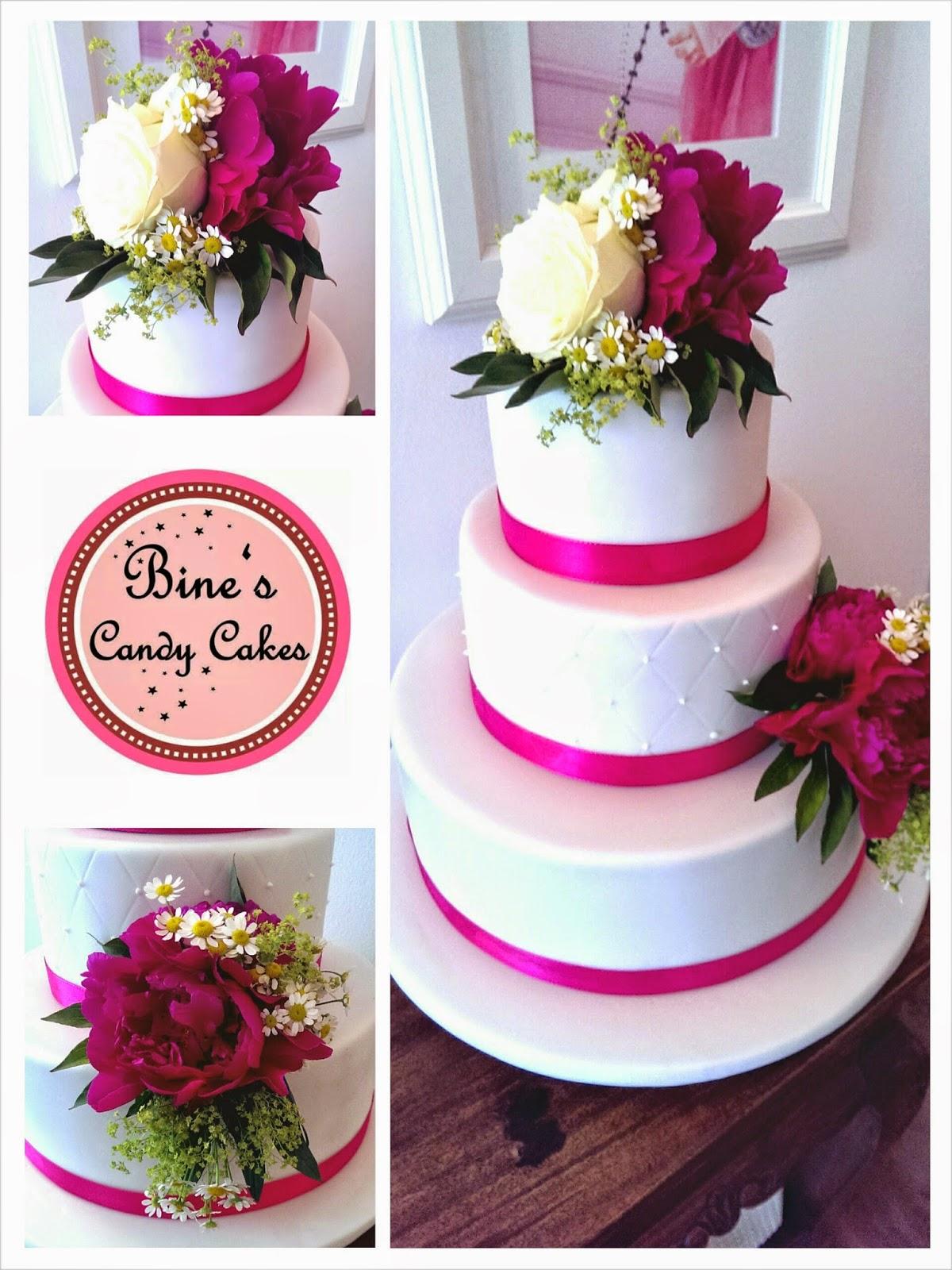 Bine S Candy Cakes Hochzeit In Pink