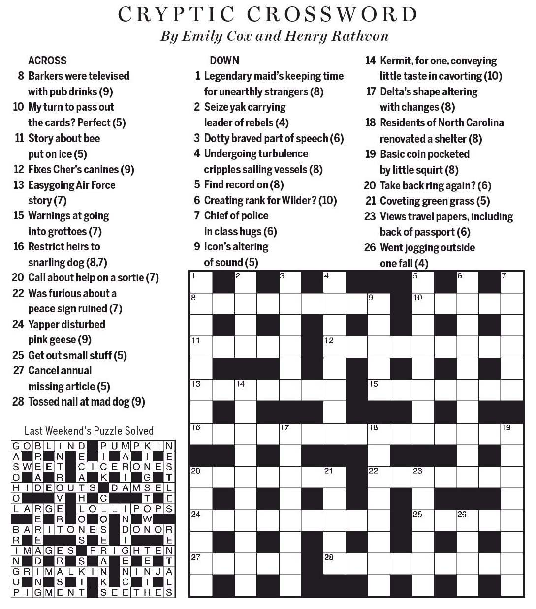 Letter of introduction crossword & Financial management