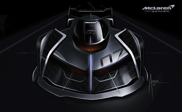 Gran Turismo Sports presenta el McLaren Ultimate Vision