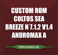 Custom Rom Coltos Sea Breeze N 7.1.2 V1.4 buat Andromax A
