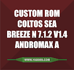 Custom Rom Coltos Sea Breeze N 7.1.2 V1.4 buat Andromax A