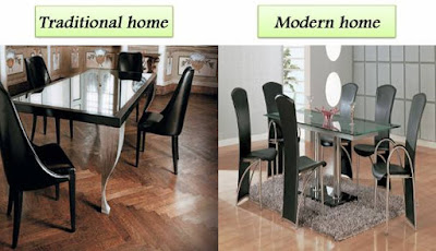 rectangle-Black-glass-top-dining-table