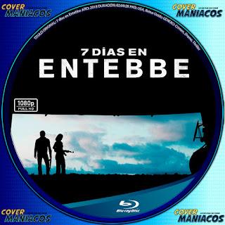 GALLETA COVER BLURAY7 DÍAS EN ENTEBBE - 7 DAYS IN ENTEBBE