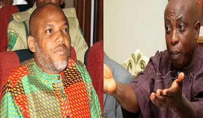 Nnamdi Kanu and Ralph Uwazuruike