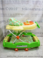 Care CW1035 Pesawat 2 In One Walker Rocker Baby Walker