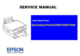 Service Manual Epson Stylus Photo TX650