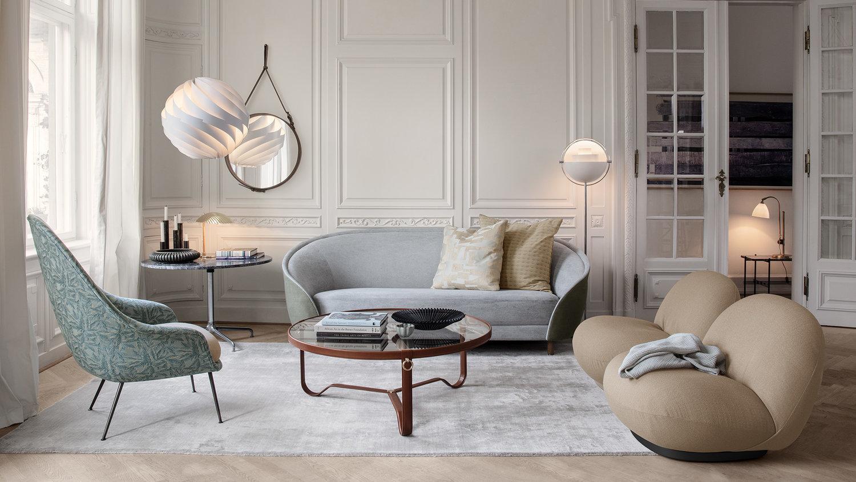 Rozkład sofy i foteli