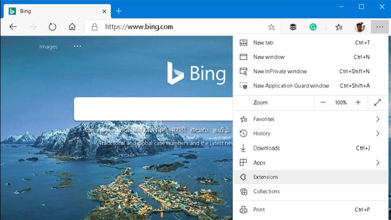 How to install Google Chrome extensions on Microsoft Edge browser?
