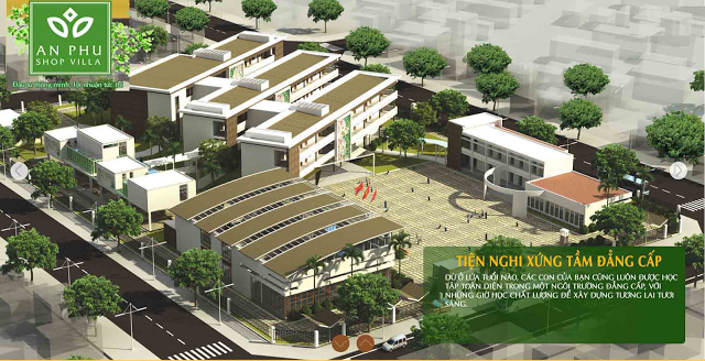 Trường học liên cấp quốc tế tại An Phú Shop Villa