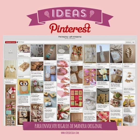 ideas envolver regalos pinterest