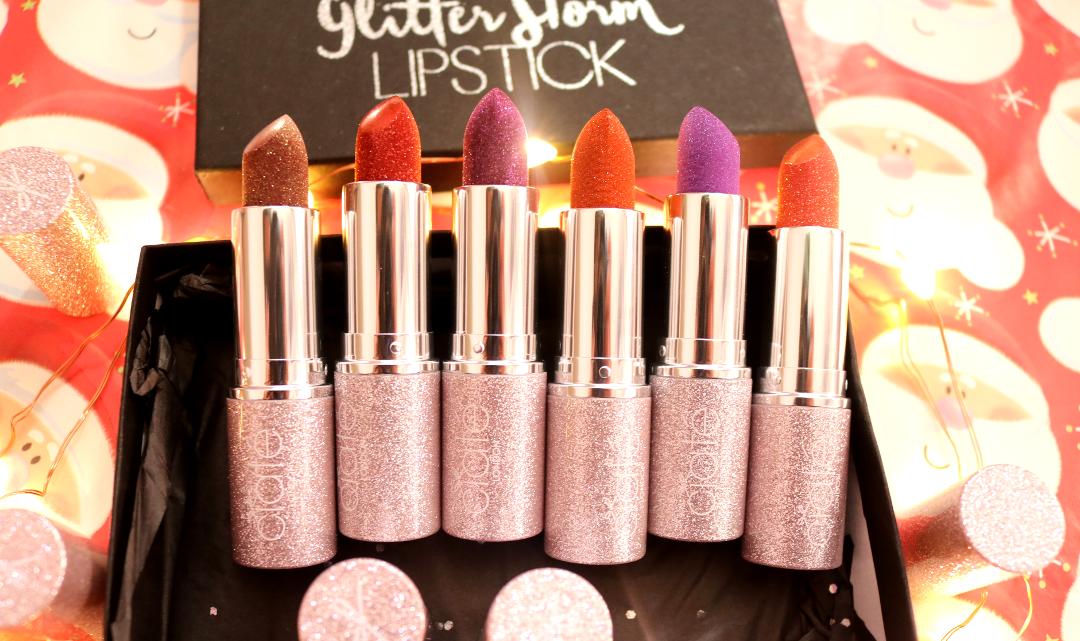 Ciate Glitter Storm Lipsticks