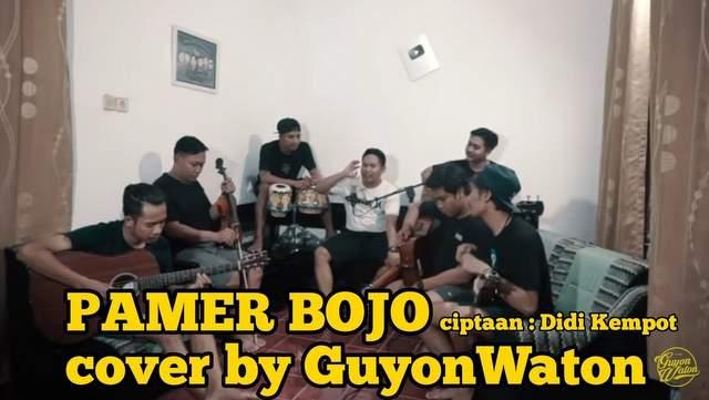 Lirik Lagu Pamer Bojo - GuyonWaton dan Terjemahannya