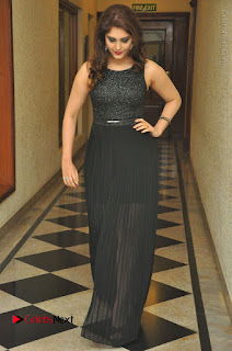 Actress Surabhi Stills in Black Long Dress at turodu Audio Launch  0087.JPG