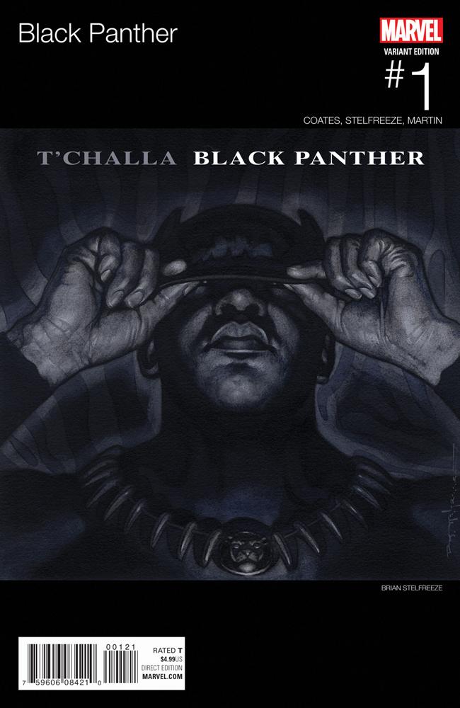 BLACK PANTHER #1 STELFREEZE HIP HOP VARIANT (FEB160739)