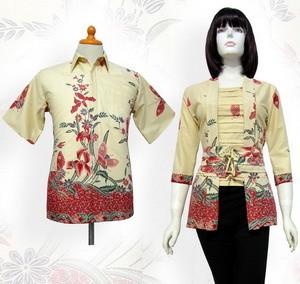 Baju Seragam Kerja Batik untuk Kantor