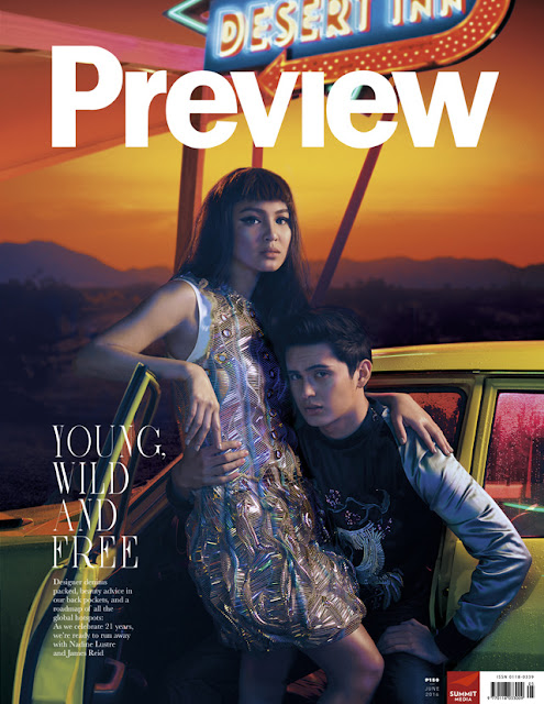 Nadine Lustre and James Reid Preview June 2016 Cover