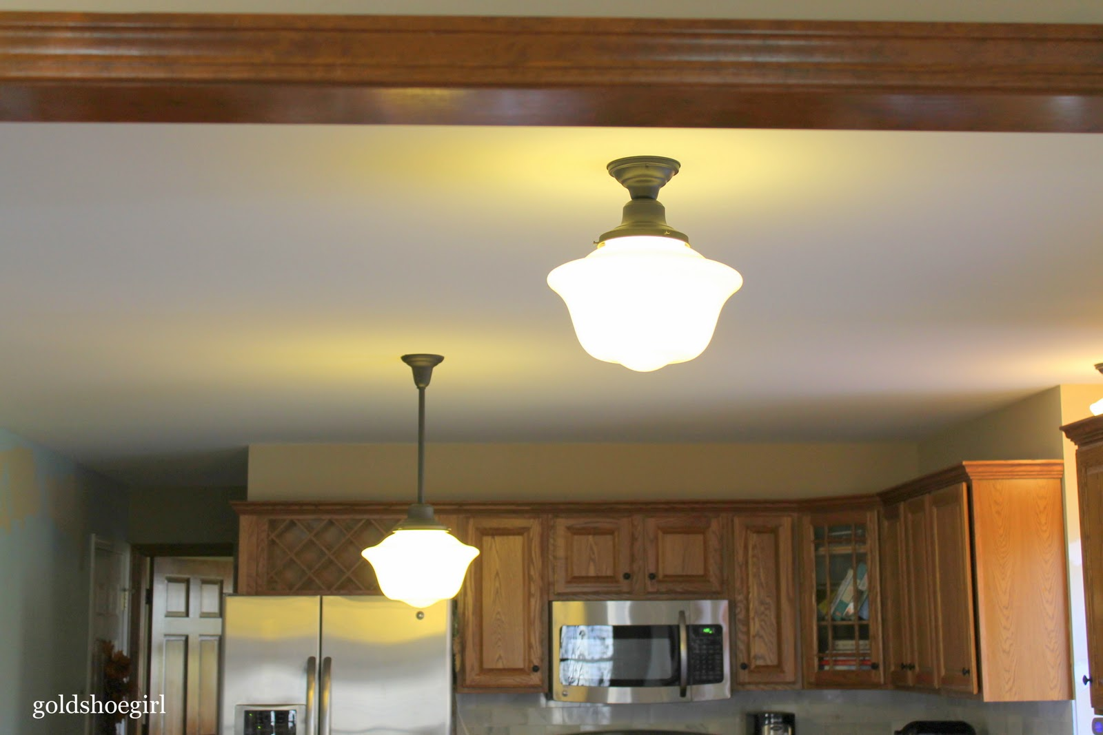 11 kitchen lights over table Tuesday November 22