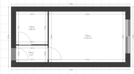 d co staging am nager et meubler un studio. Black Bedroom Furniture Sets. Home Design Ideas