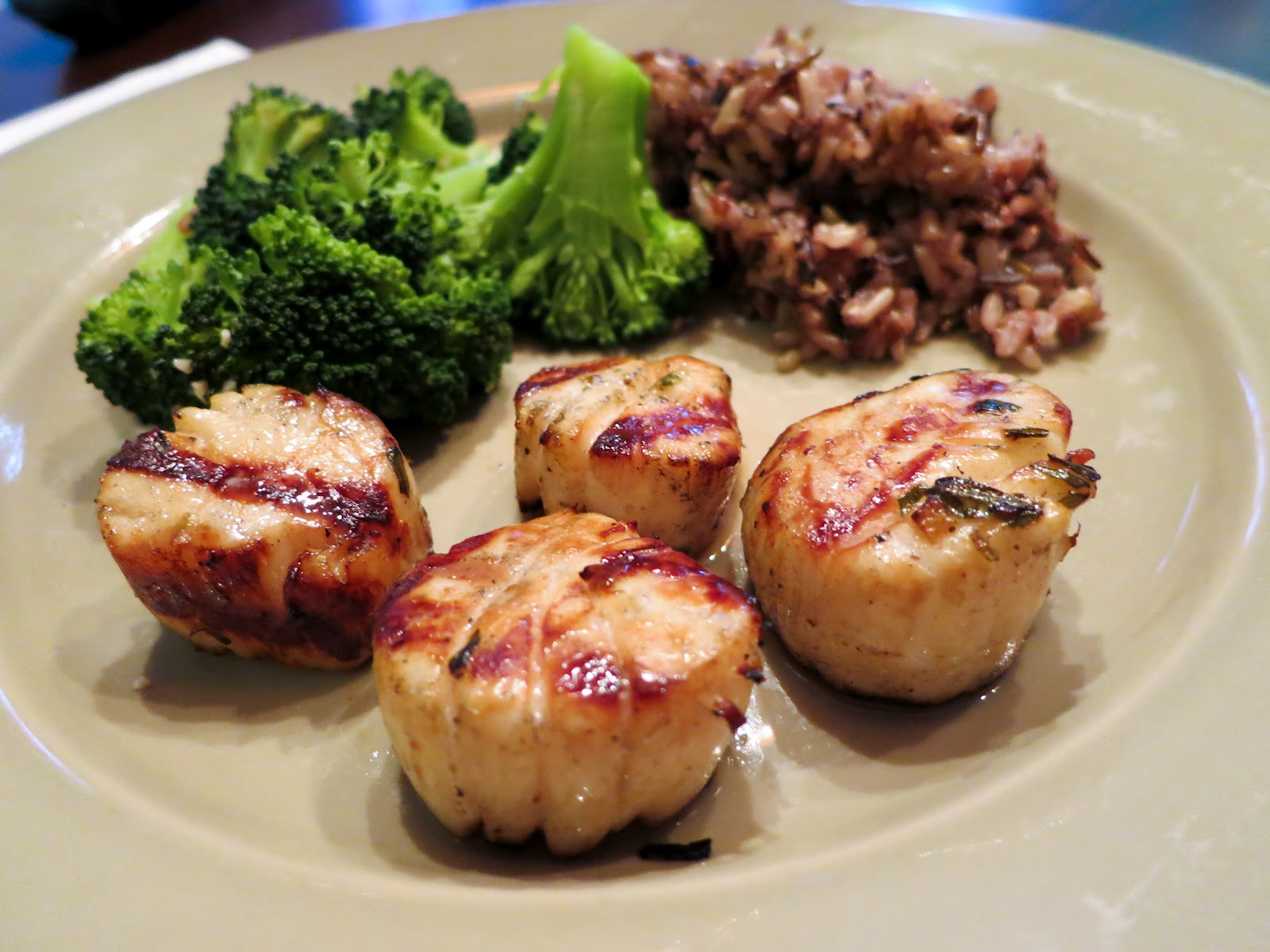 Feast Everyday Grilled Marinated Sea Scallops With Lemon Tarragon Vinaigrette By Tom