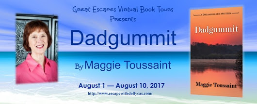 Dadgummit by Maggie Toussaint | Blog Tour with Review, Guest Post, and Giveaway