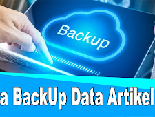 Cara Backup Semua Data Artikel Blog