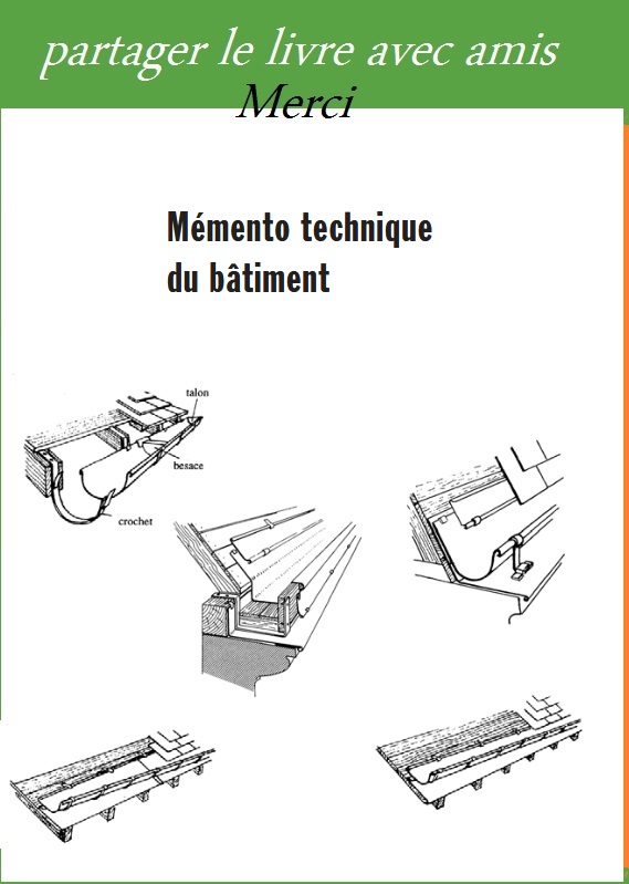 M mento technique du b timent totures pdf book batiment architecture for Cours de construction pdf