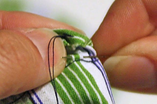 How to sew a ladder stitch - close a seam invisibly - aka slip stitch, blind stitch or invisible stitch instructions