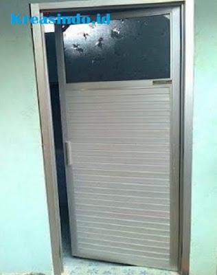 Harga Pintu Aluminium Warna Silver