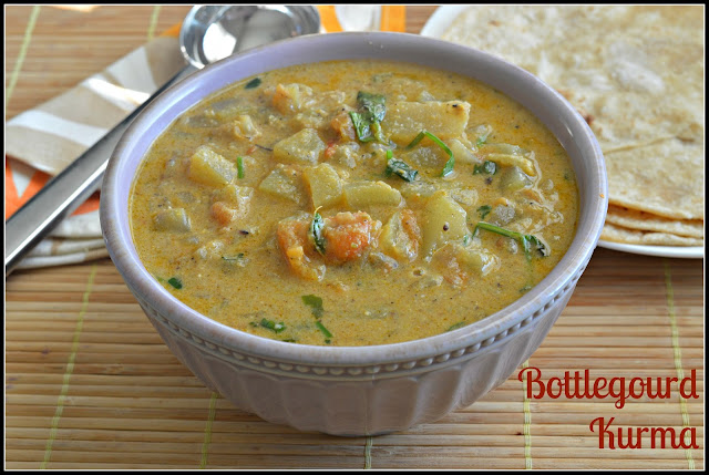 Bottlegourd Kurma Recipe | Sorakkai Kurma Recipe