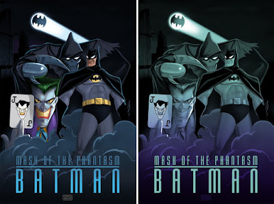 Batman: Mask of the Phantasm Screen Print by Corey Wolfe x Bottleneck Gallery