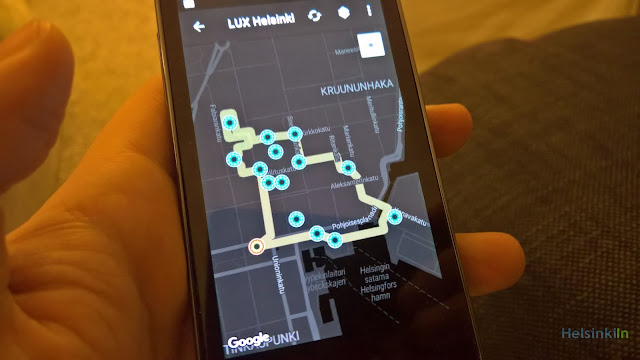 LUX Helsinki map on SpaceItUp