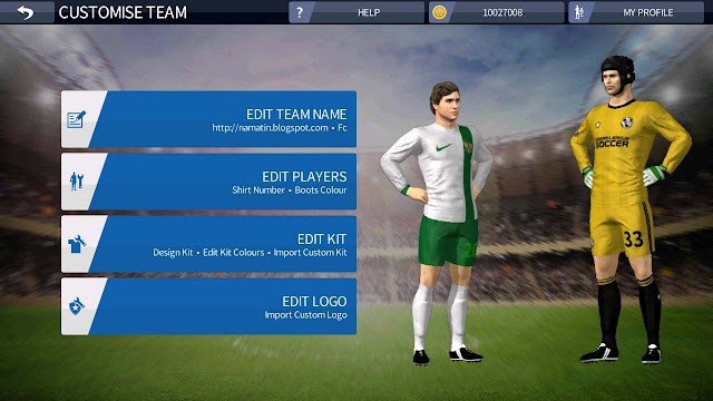 Jersey Timnas Indonesia Dream League Soccer