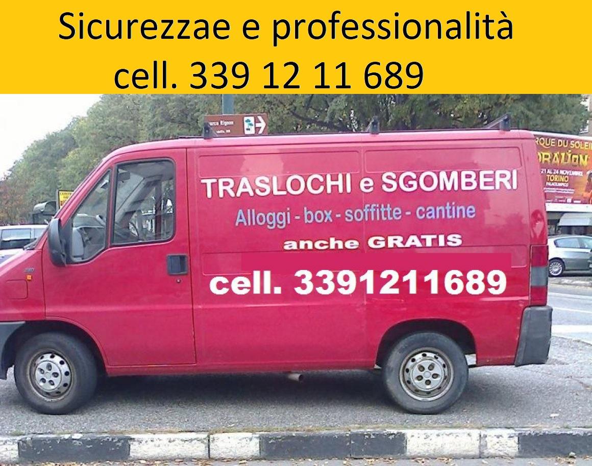 Sgombero Cantine Torino Tel 339 12 11 689