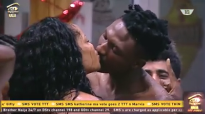 Kissing Spree, #BBnaija, Big Brother Naija, Big Brother Nigeria, Entertainment,
