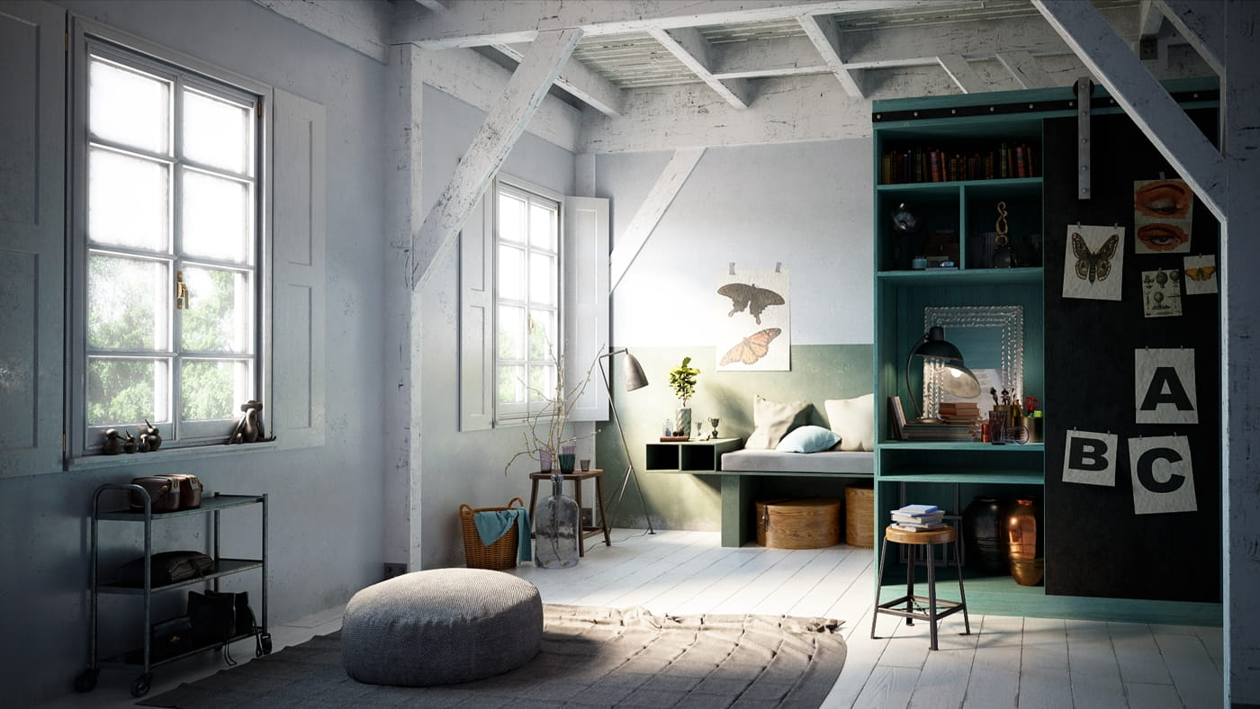Evermotion Releases Scandinavian Interior Collections
