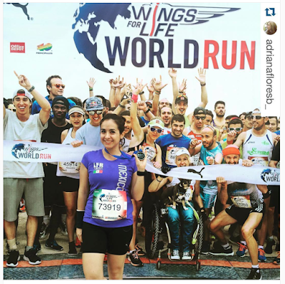 Wings for Life World Run - Instagram adrianafloresb_