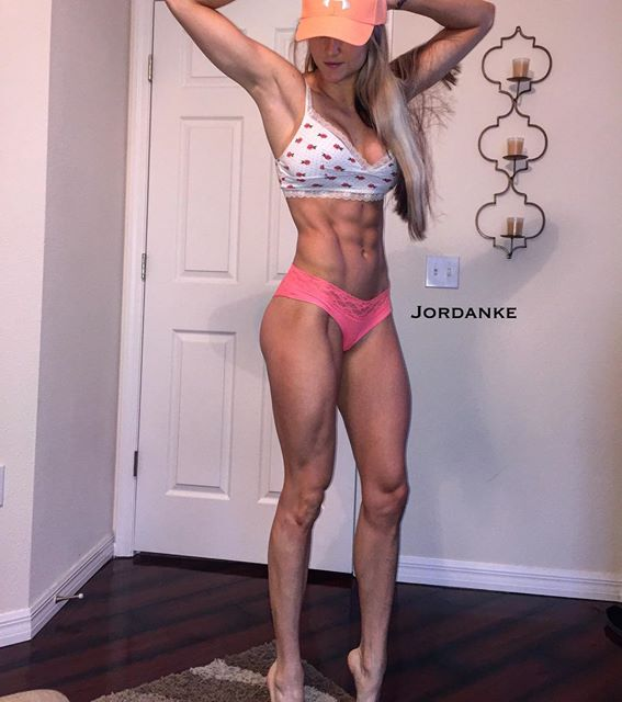 Fitness Model JORDAN EDWARDS Instagram photos