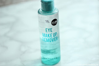 Review: Primark Beauty Haul - Können die Produkte was?! - PS...Eye Makeup Remover - www.annitschkasblog.de