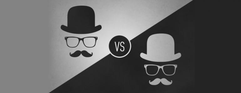 Black And White Hat Part : Seo tutor black hat vs white