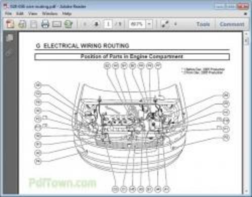 Famous Car Manual: Toyota Scion xB 2006 Electrical Wiring
