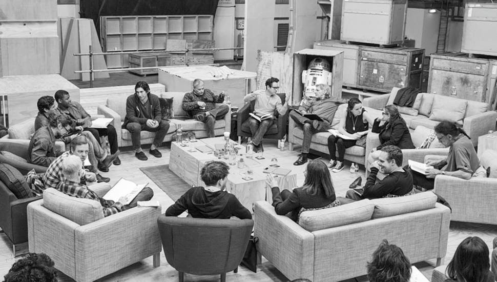 Star Wars Episode VII seven cast