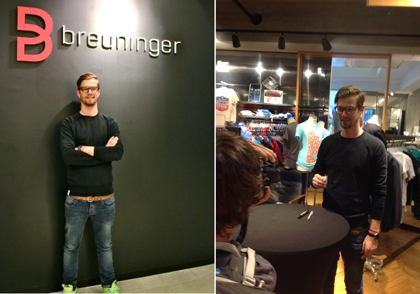 official photos 3fdb3 f2cb1 Autogrammstunde mit Joko Winterscheidt im Breuninger Freiburg