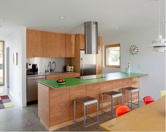 Nét đẹp của phòng bếp đến từ tủ bếp Laminate