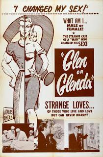 Póster Película Glen o Glenda