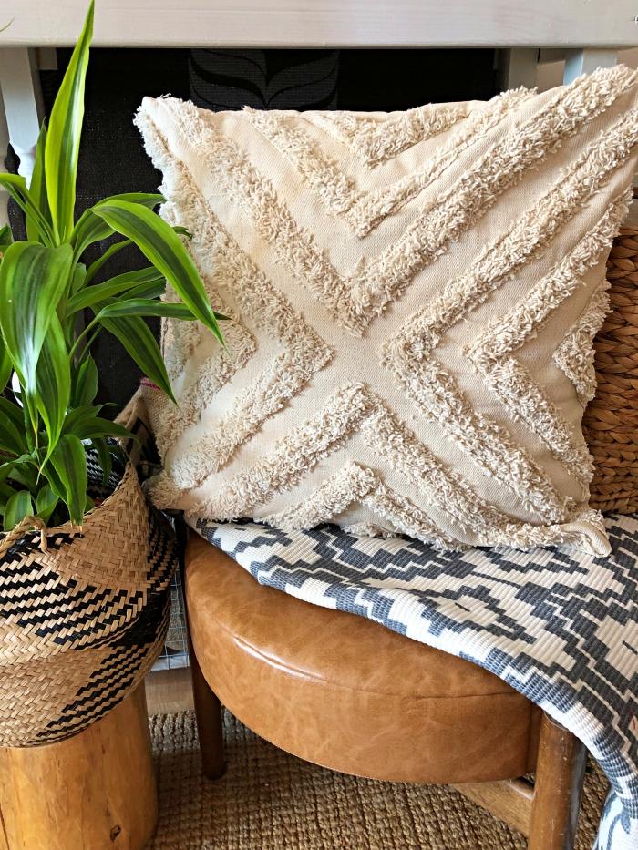 DIY - Poszewka na poduszkę w stylu bohemian
