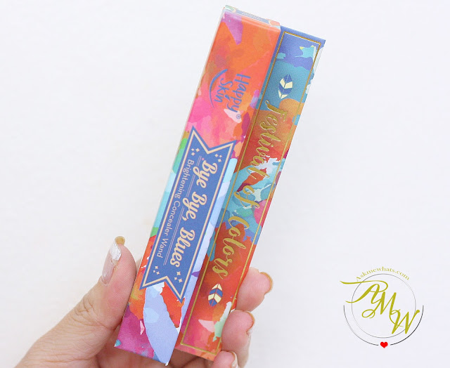 a photo of Happy Skin Bye Bye Blues Brightening Concealer Review