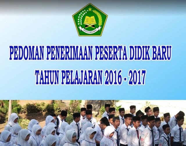 Juknis Penerimaan Peserta Didik (PPDB) Madrasah Terbaru