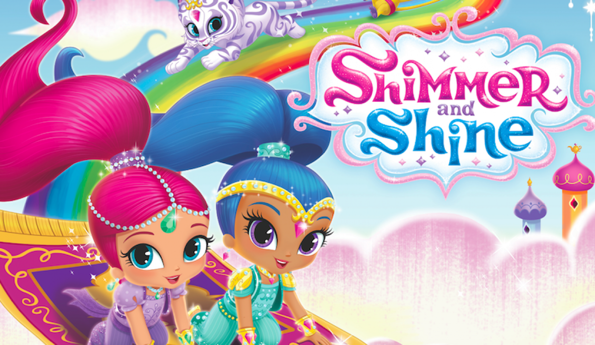 NickALive!: Shimmer And Shine Sparkles At Retail, On TV And In The ...